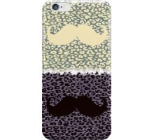Funny Mustache iPhone Case/Skin