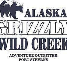 Alaska Grizzly by Port-Stevens