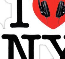 I LOVE viNYl Sticker