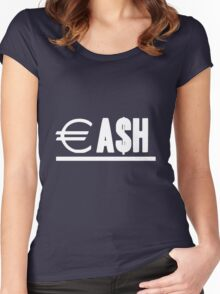 CA$H Women's Fitted Scoop T-Shirt