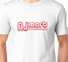 nj mart supermarket (aged look) Unisex T-Shirt