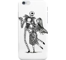 Jack and Sally, The Love Story iPhone Case/Skin