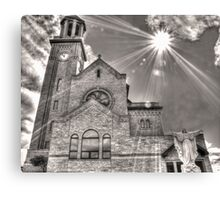 On This Day He Said Let There Be Light Canvas Print