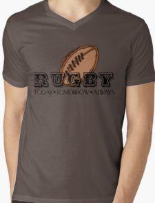 Rugby Mens V-Neck T-Shirt
