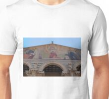 Jerusalem the facade of Church of all Nations Unisex T-Shirt