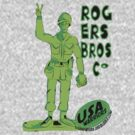 usa warriors toy soldier by rogers bros by usanewyork