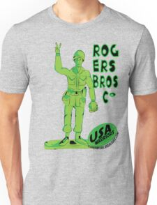 usa warriors toy soldier by rogers bros T-Shirt