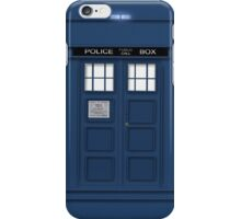 Tardis Phone 3D iPhone Case/Skin