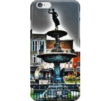 Foutain Square iPhone Case/Skin