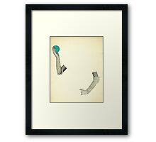 Disappearing Act Framed Print