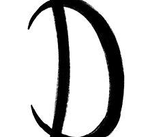 The Letter D by alphabeautiful