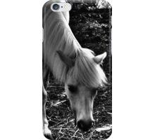 White Horse (monochromatic)  iPhone Case/Skin