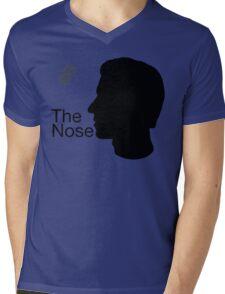 The Nose Mens V-Neck T-Shirt