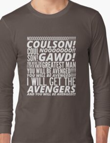 Coulson Nooooo! Long Sleeve T-Shirt