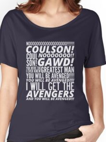 Coulson Nooooo! Women's Relaxed Fit T-Shirt