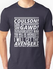 Coulson Nooooo! Unisex T-Shirt