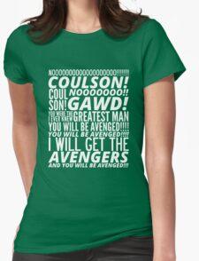 Coulson Nooooo! Womens Fitted T-Shirt