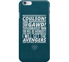 Coulson Nooooo! iPhone Case/Skin
