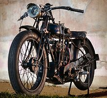 1927 A-J-S Motorcycle by Martin Lomé
