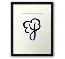 The Letter Y Framed Print