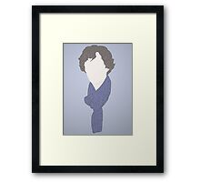 Sherlock in a few words Framed Print
