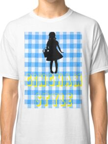 Wizard Of Oz Dorothy Gingham Style Classic T-Shirt
