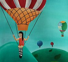 Balloon Ride by Eva Fritz