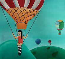Balloon Ride by Eva Fritz