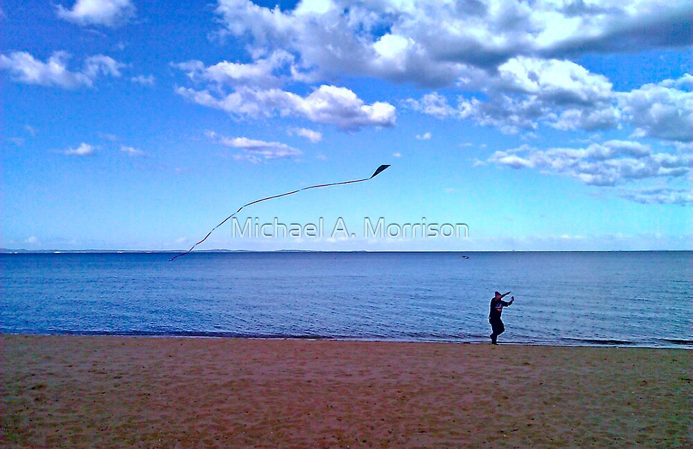 high (as a kite)  by Michael A. Morrison
