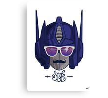 optimus style Canvas Print