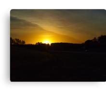 Prior Lake Sunrise Canvas Print