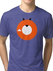 A Most Minimalist Fox Tri-blend T-Shirt