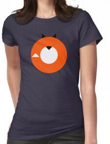 A Most Minimalist Fox Womens Fitted T-Shirt