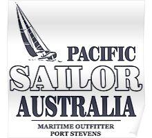 Australian Pacific Sailor Poster