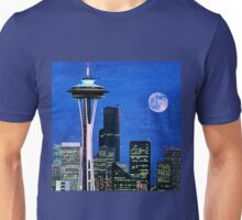 Blue Seattle Space Needle Unisex T-Shirt
