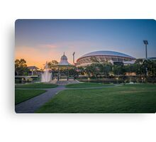 Torrens Sunset Canvas Print