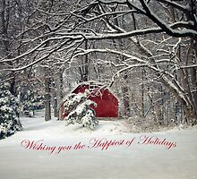 Wishing you the Happiest of Holidays by Susan S. Kline