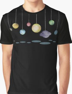 The Solar System Graphic T-Shirt
