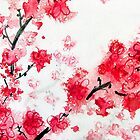 Cherry Blossoms II by Kathie Nichols