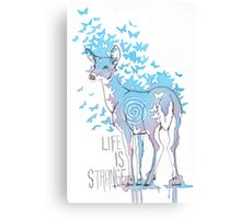 Life is Strange- Watercolor Butterfly Doe  Canvas Print