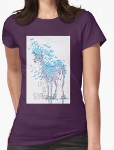 Life is Strange- Watercolor Butterfly Doe  T-Shirt