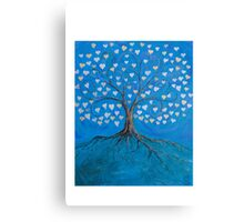 Tree of Life ( heart leaves ) Canvas Print
