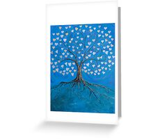 Tree of Life ( heart leaves ) Greeting Card