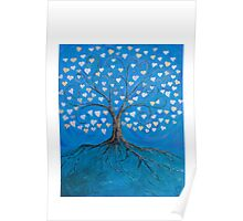 Tree of Life ( heart leaves ) Poster
