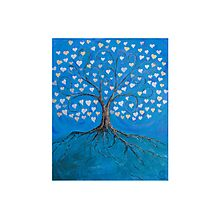 Tree of Life ( heart leaves ) Photographic Print