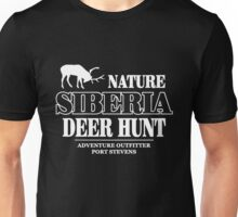Siberia Deer Hunt Unisex T-Shirt
