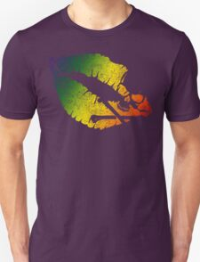 rainbow poison lips Unisex T-Shirt