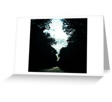 road... Greeting Card