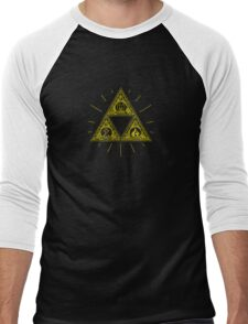 Gold Trinity Shirt - Zelda Men's Baseball ¾ T-Shirt