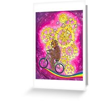 Rainbow Ride Greeting Card